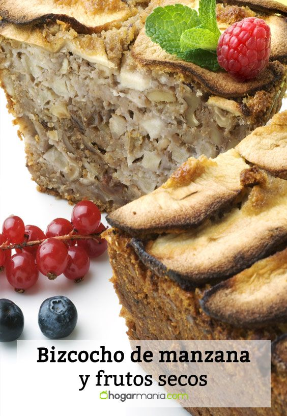 Recipe for cake with apples and dried fruits