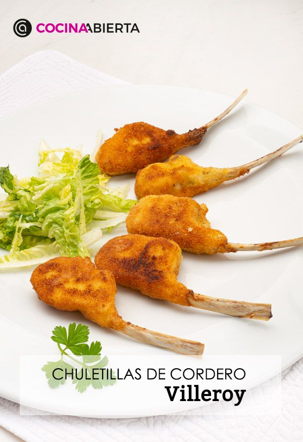 Recipe from Villeroy lamb chops by Karlos Arguiñano - Presentation