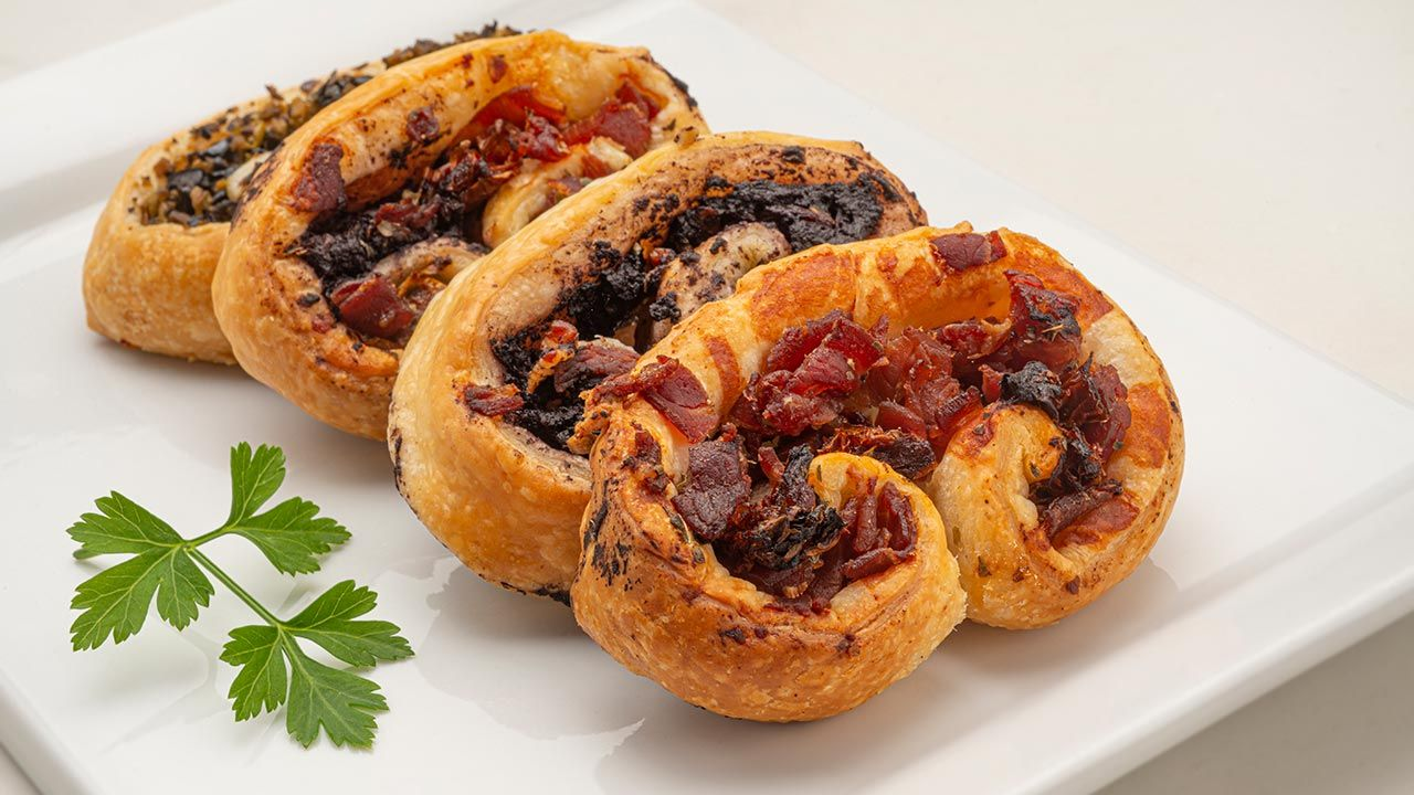 Spicy puff pastry puff pastry - Recipe by Carlos Arginiano in Open Kitchen - Hogarmania
