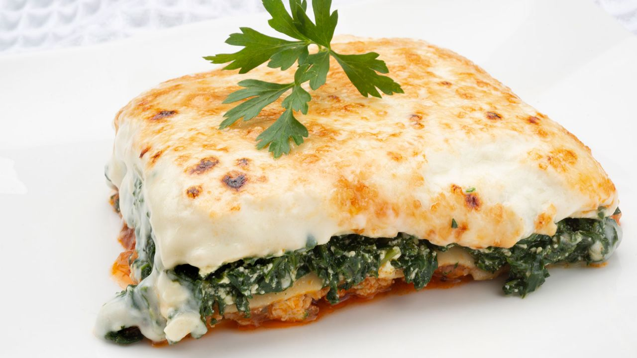 Recipe for lasagna with chicken, spinach and cottage cheese - Carlos Arginiano