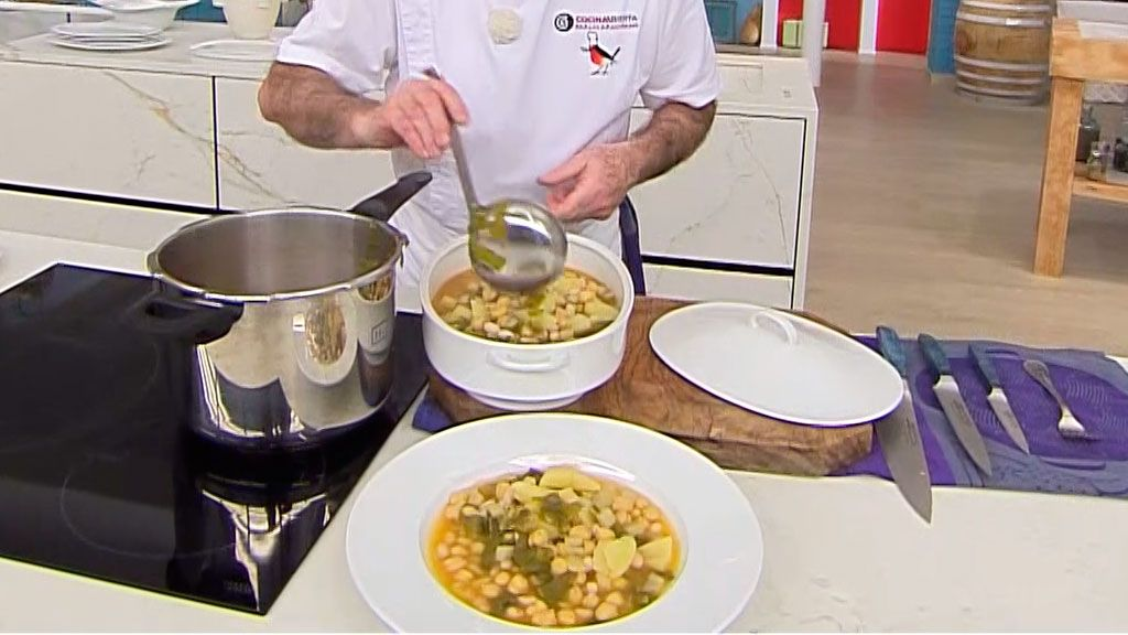 Chard stew with pringa (in a quick pot), traditional Andalusian stew by Carlos Arginiano - Step 5