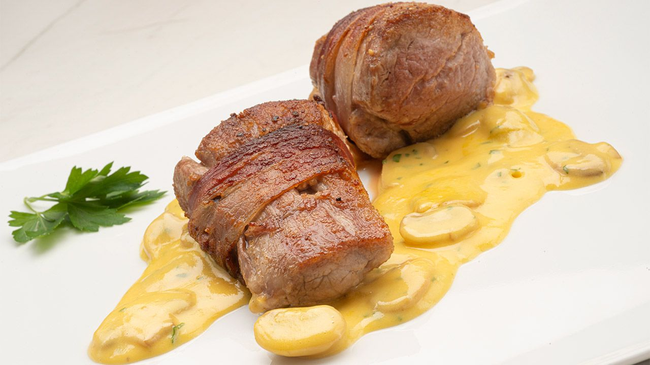 Pork tenderloin with paulette sauce by Karlos Arguiñano: the perfect meat dish for the holidays