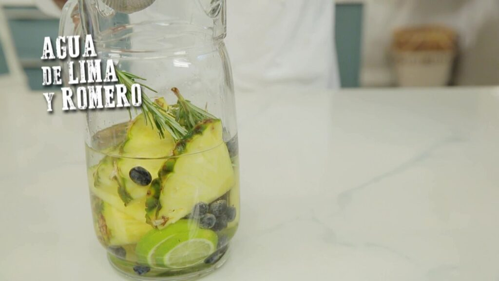 Recipe for lime and rosemary water - Hogarmania