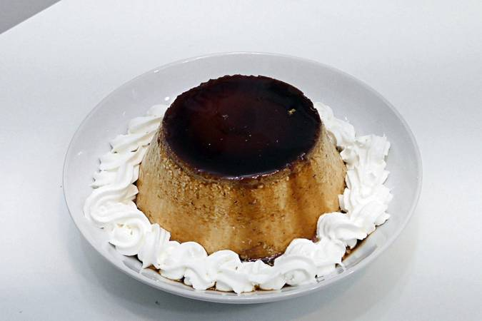 Step 5 of the Mascarpone Cheese Flan in GM Pot
