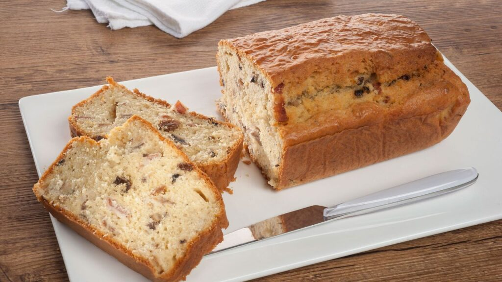 Cake recipe with salted bacon and mushrooms - Amaia Urdangarin