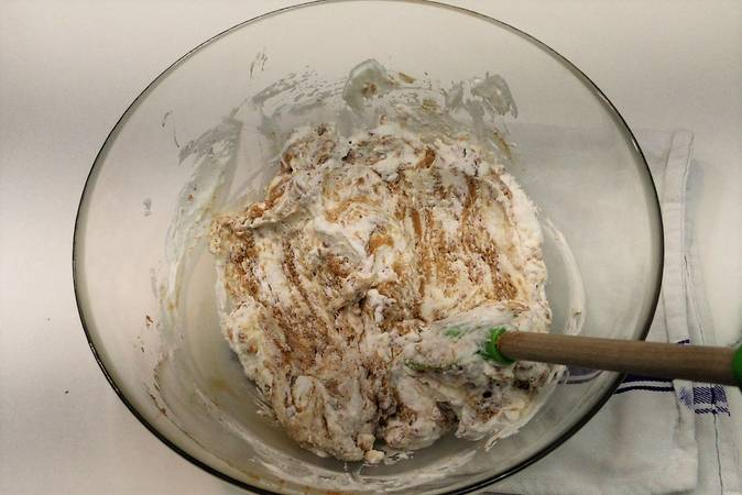 Step 5 of How to make nougat mousse