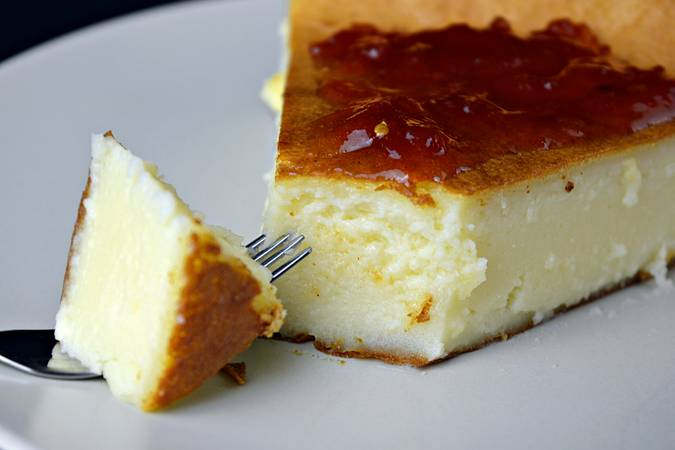 Step 5 of Homemade Cheesecake, the easiest in the world