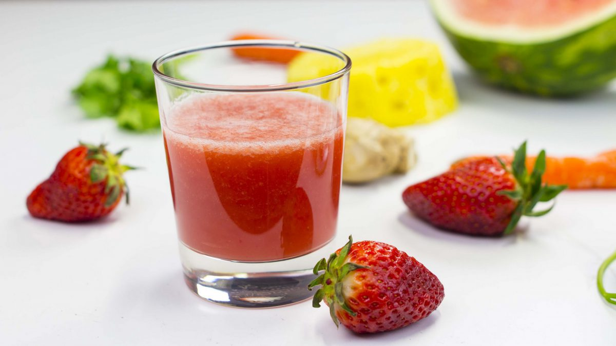 Smoothie, a natural drink