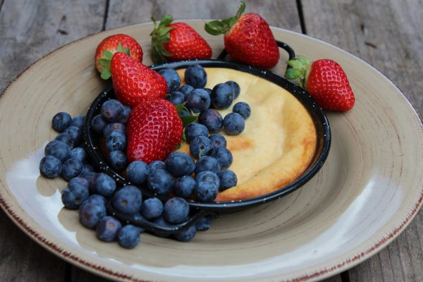 Cheesecake and condensed milk