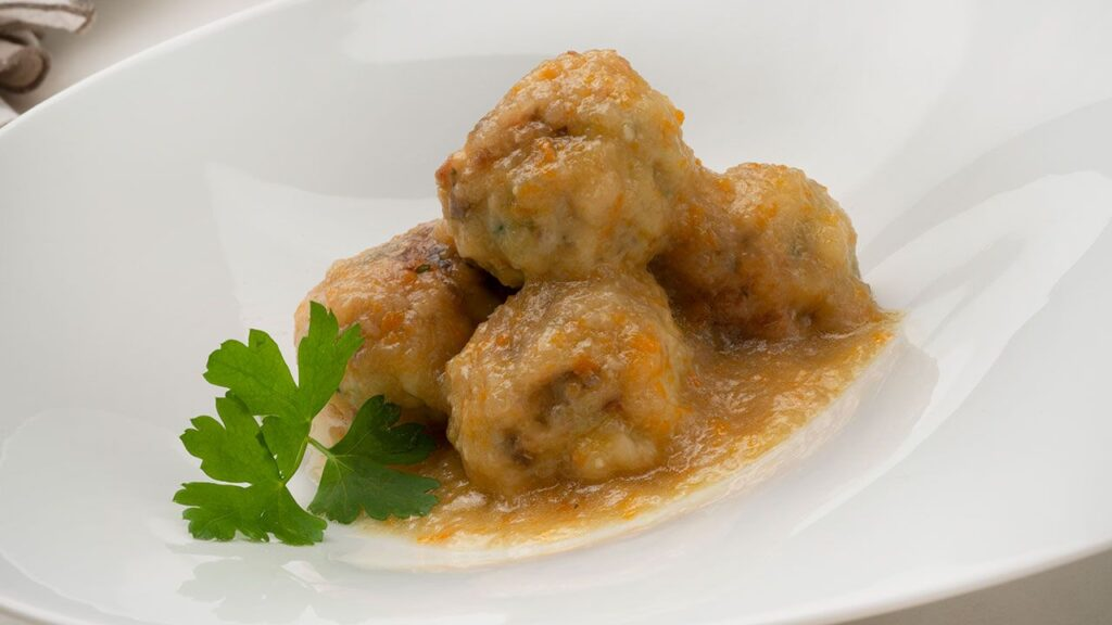 Recipe for meatballs from Perlon - Carlos Arginiano