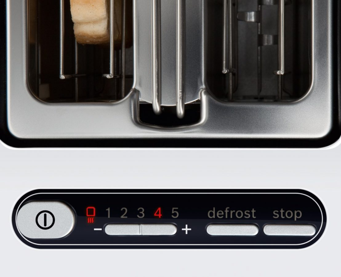 MasterChef Toaster controls the details