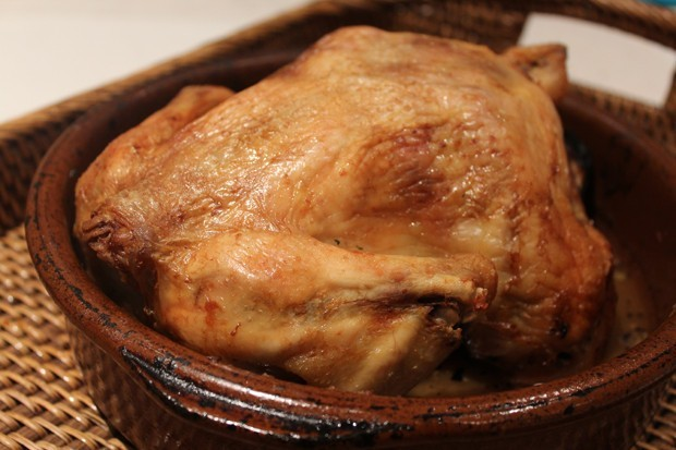 Delicious baked chicken in the oven