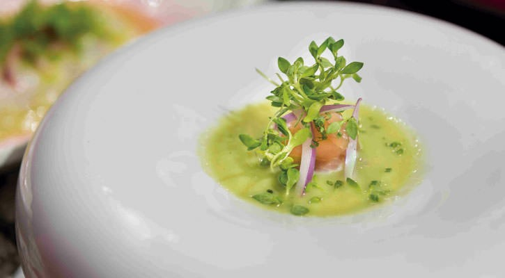 Apple aguachilla with dried mackerel - Gastroactitud.  Passion for food