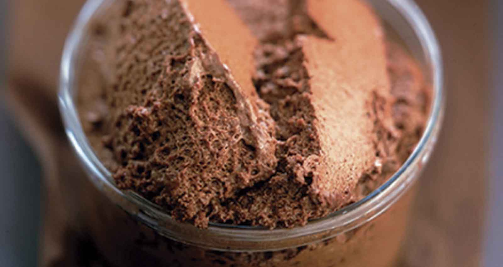 Chocolate mousse - Gastroactitud.  Passion for food