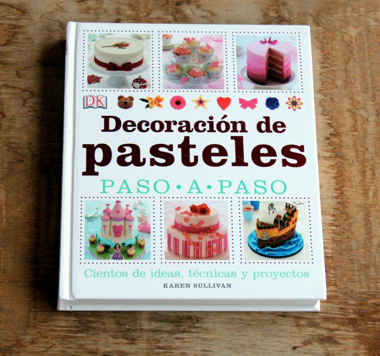 book for decorating cakes step by step