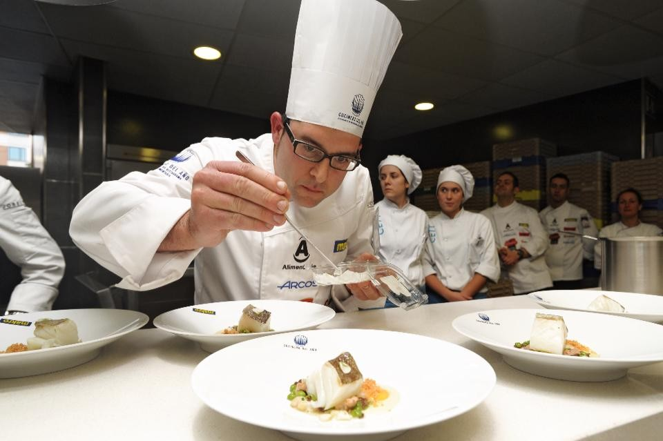 Albert Ortiz, winner of the fourth semifinal of the Chef of the Year competition