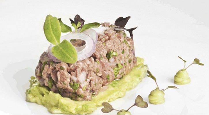 Galician veal green salpicon - Gastroactitud.  Passion for food