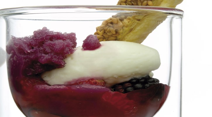 Infusion of red fruits - Gastroactitud.  Passion for food