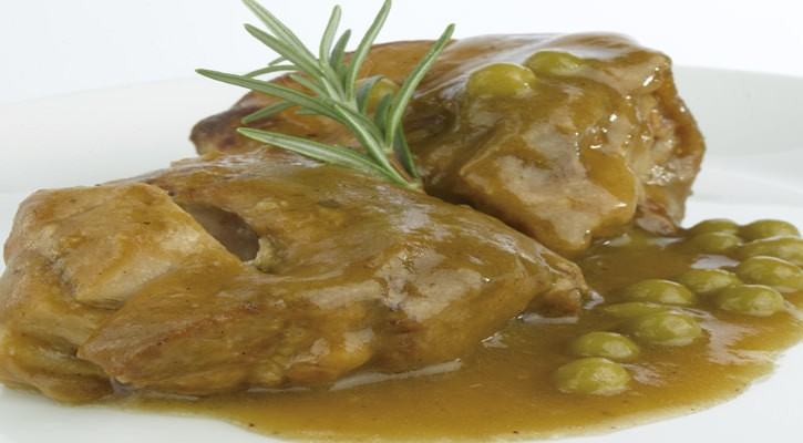 Lamb in pea sauce - Gastroactitud.  Passion for food