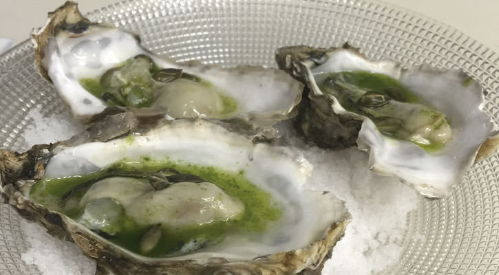 Marinated oysters - Gastroactitude.  Passion for food