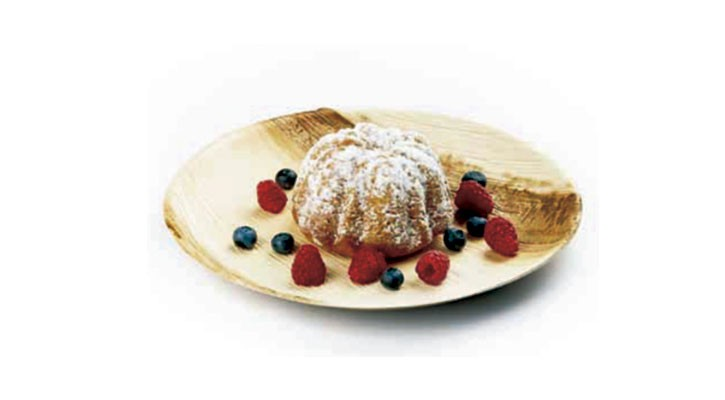 Quescrem natural and almond cake - Gastroactitud.  Passion for food