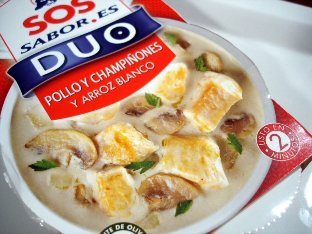 SOS DUO SABOR Rice with chicken and mushrooms (3)