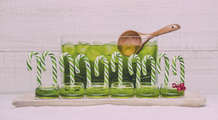 Salty apple punch - Gastroactitud.  Passion for food