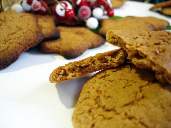 Speculoos, typical Christmas cakes