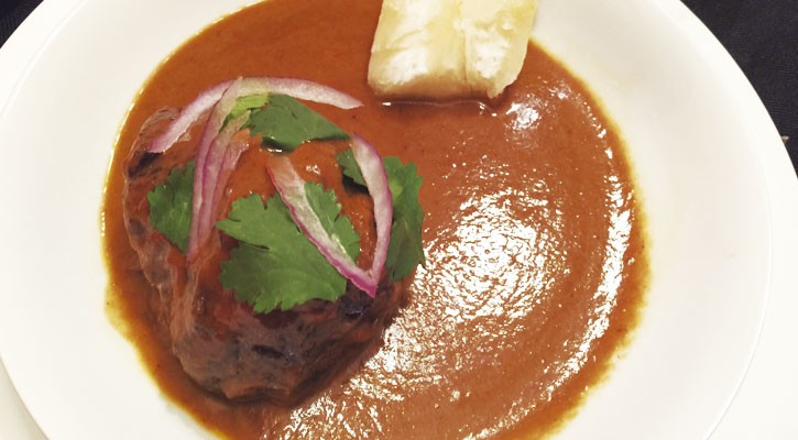 Thai cheeks with Yuca - Gastroactitud.  Passion for food