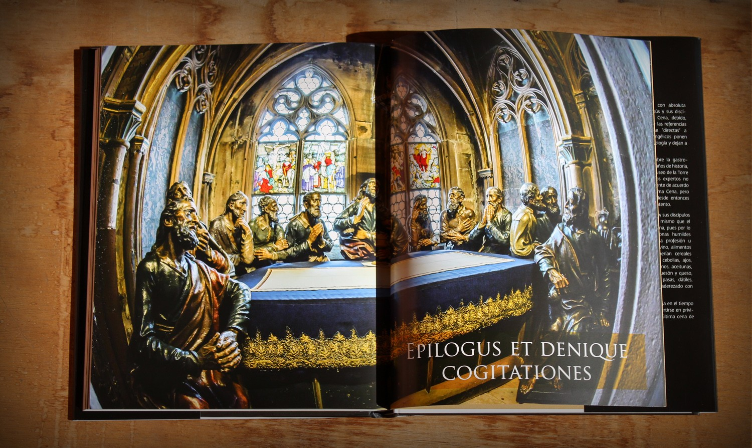Inside the book The Last Supper, a book by Miguel Angel Almodovar