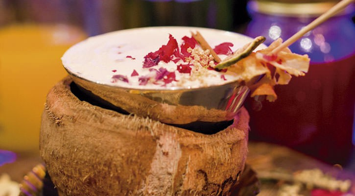 World-class cocktail for Coldplay - Gastroactitud.  Passion for food
