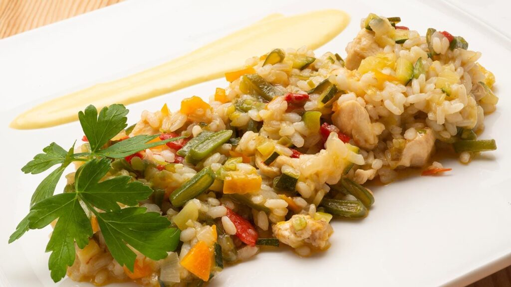 Recipe for rice with chicken and vegetables - Carlos Arginiano