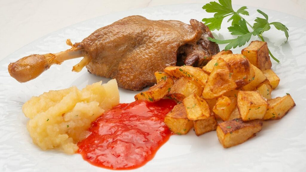 Duck confit recipe with french fries in their fat - Carlos Arginiano