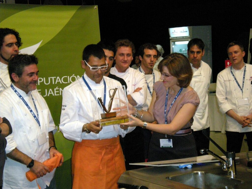 """Andreu Ruiz, winner of the """"Jaén, interior paradise"""" kitchen award  Dressing  Blog for cooking, gastronomy and recipes"""