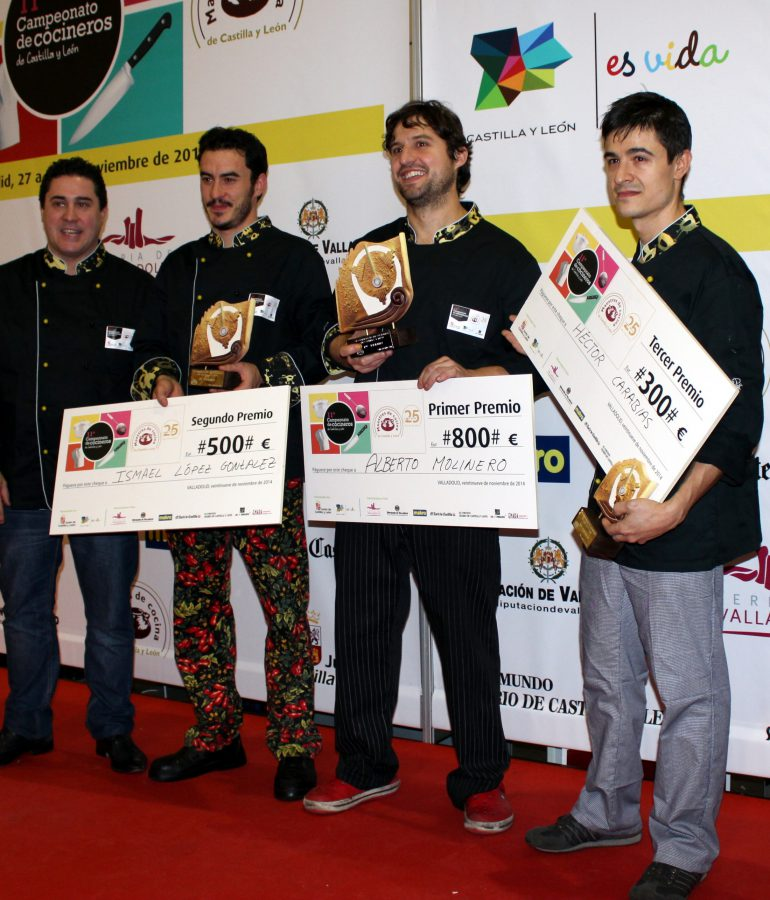 Last Championship of Chefs of Castile and Leon 2014