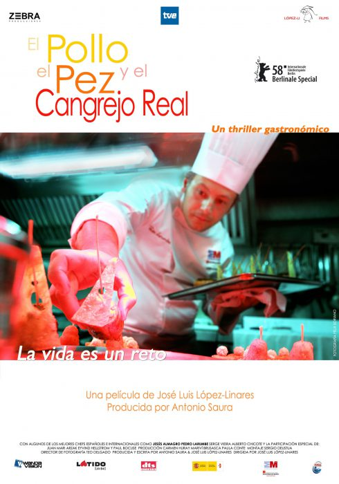Poster of the fish El Polo and the crab king