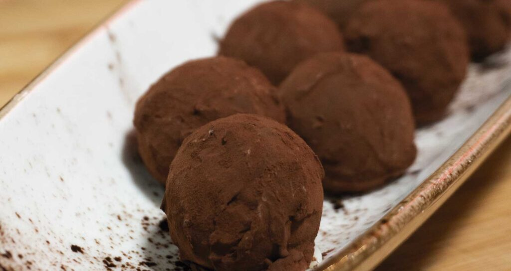 Coconut truffle - Gastroactitud.  Passion for food