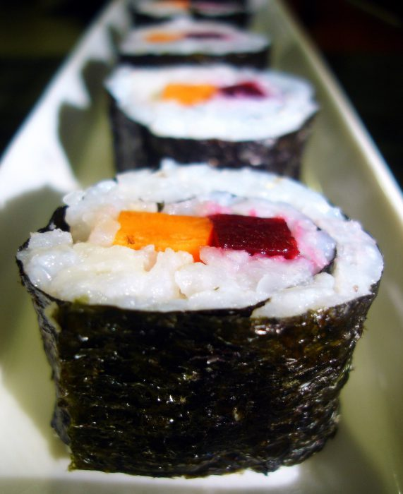An easy sushi recipe for beginners