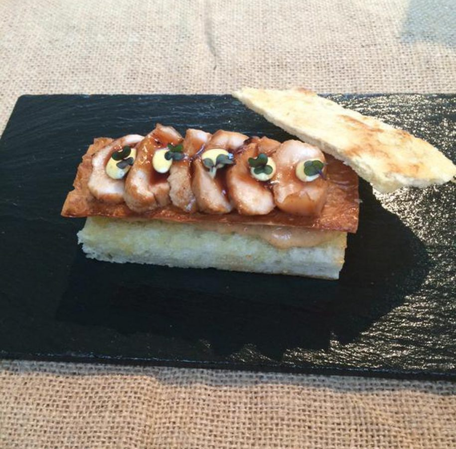 CrabRabbit - winner of the sandwiches of the author's sandwich competition 2015 madridfusion