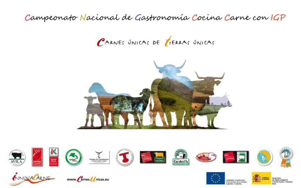 Gastronomic championship in cooking meat with PGI
