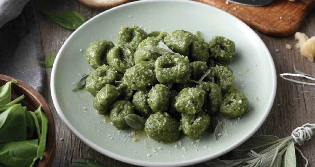 Gnocchi spinach - Gastroactitude.  Passion for food