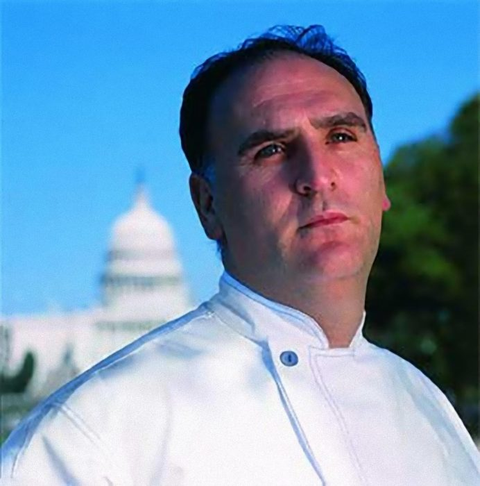 Award in the USA for Jose Andres