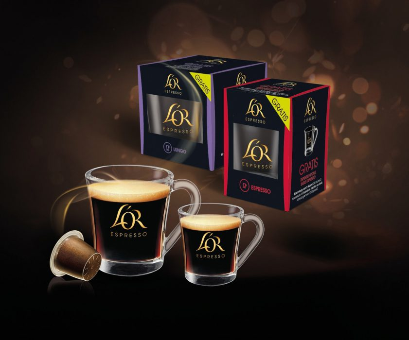 L'Or Express capsule coffee