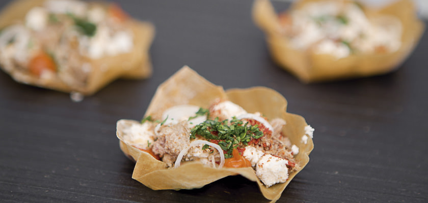 Marinated shells with wine air albariño - Gastroactitud.  Passion for food