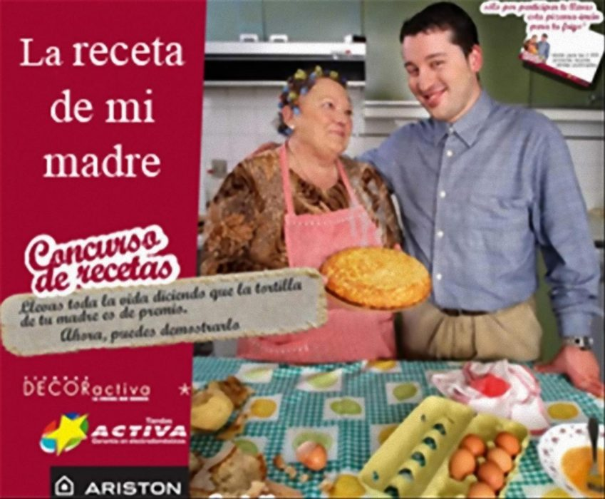 My mother's recipe, a new competition for recipes on the Internet