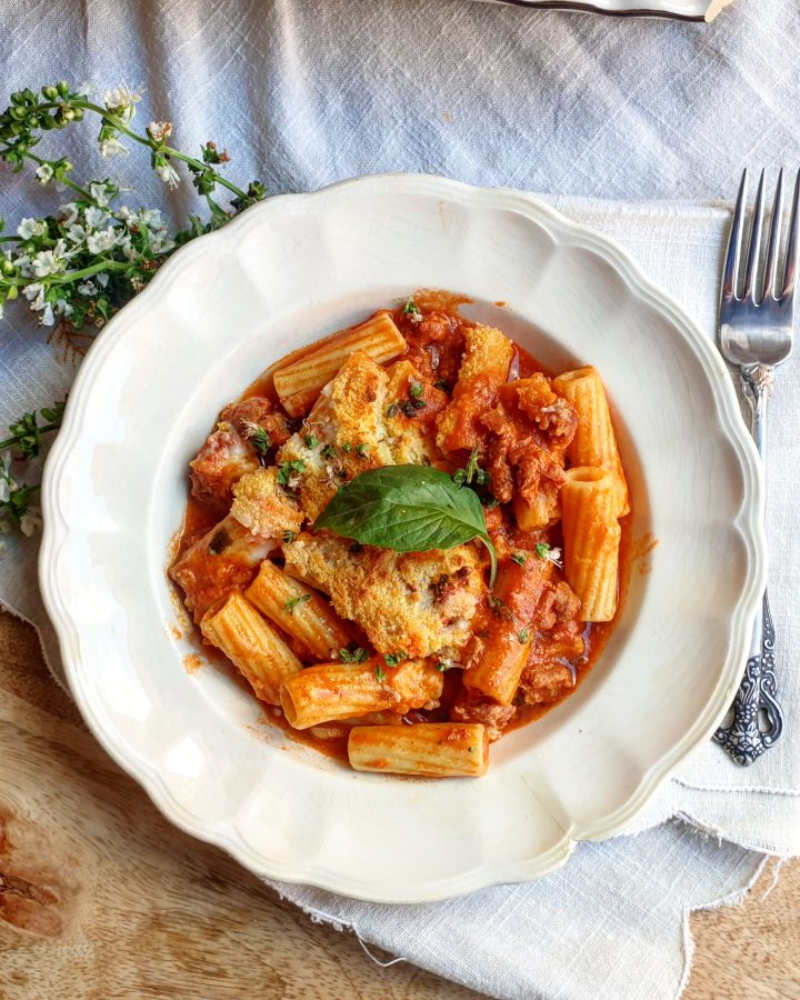 Pasta with minced chorizo  Dressing  Blog for cooking, gastronomy and recipes