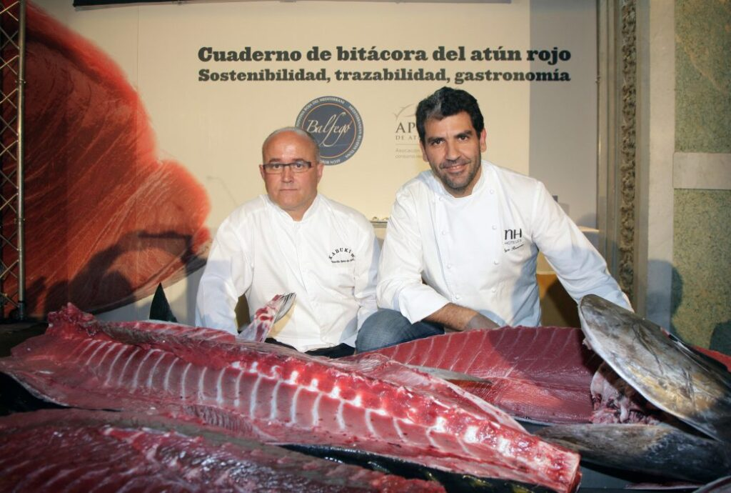 Persistence and traceability of bluefin tuna consumption