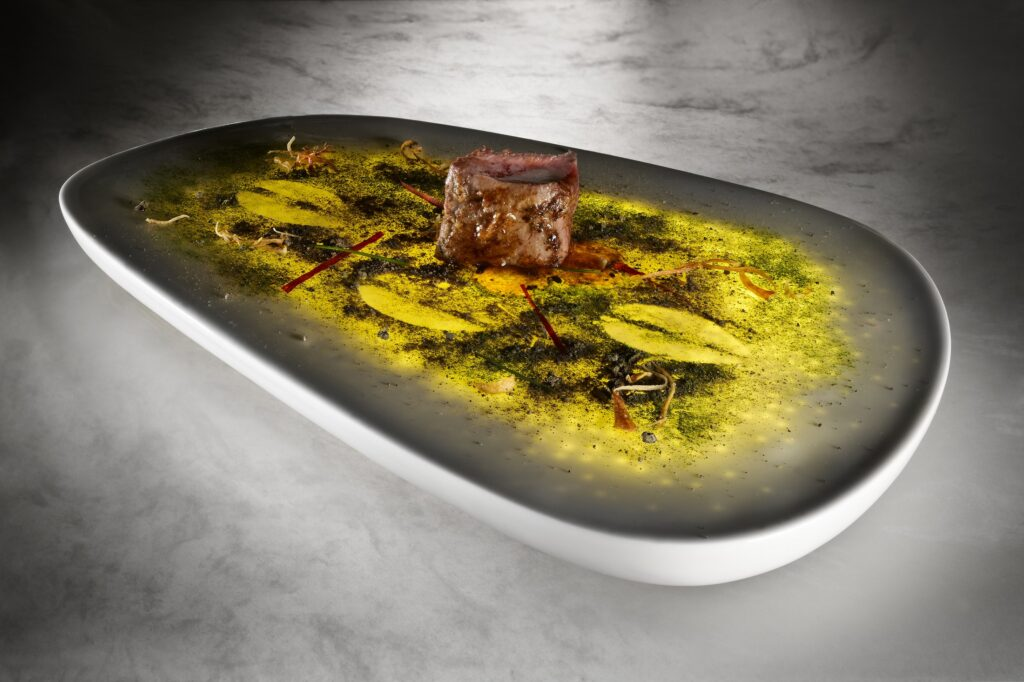Philips design probes from Arzak, light on the plate