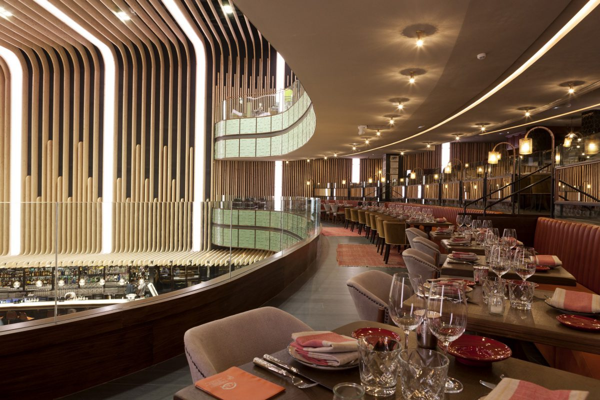Platea Madrid is a gourmet space for gastronomic entertainment