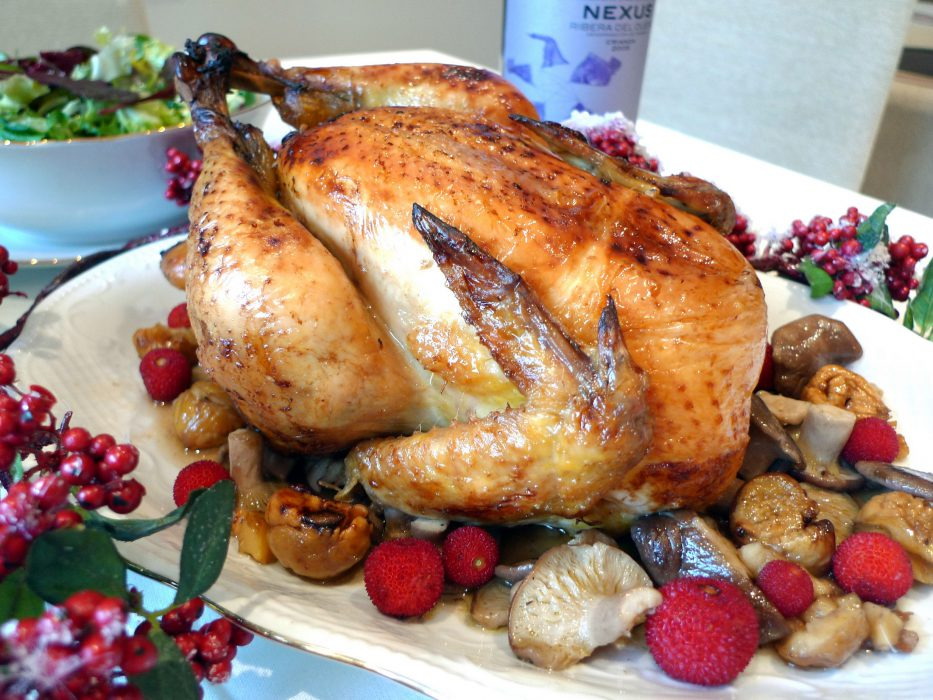 Stuffed chicken for Christmas 10